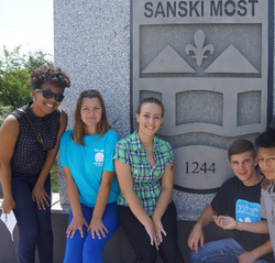 HSGC Students visit Bosnia, 2013