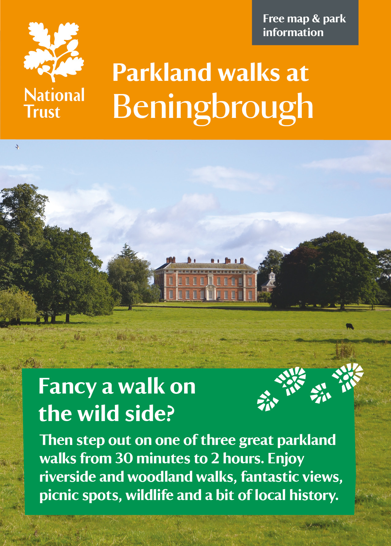 Beningborough Park Walking leaflet