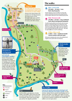 Beningborough Park Walking leaflet A4