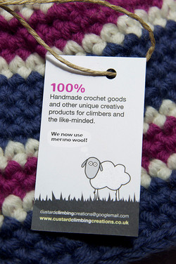 Clothing tag design