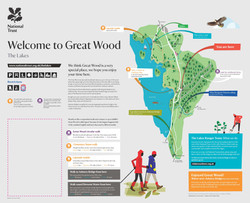 Great Wood information Sign