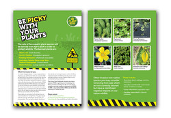 Plant awareness leaflets