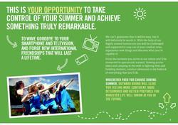 Summer courses brochure