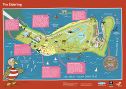 Wanly Tale Trail map illustration