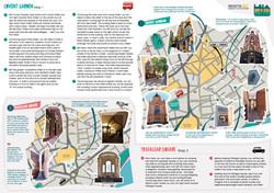 Urban Adventure map & leaflet design