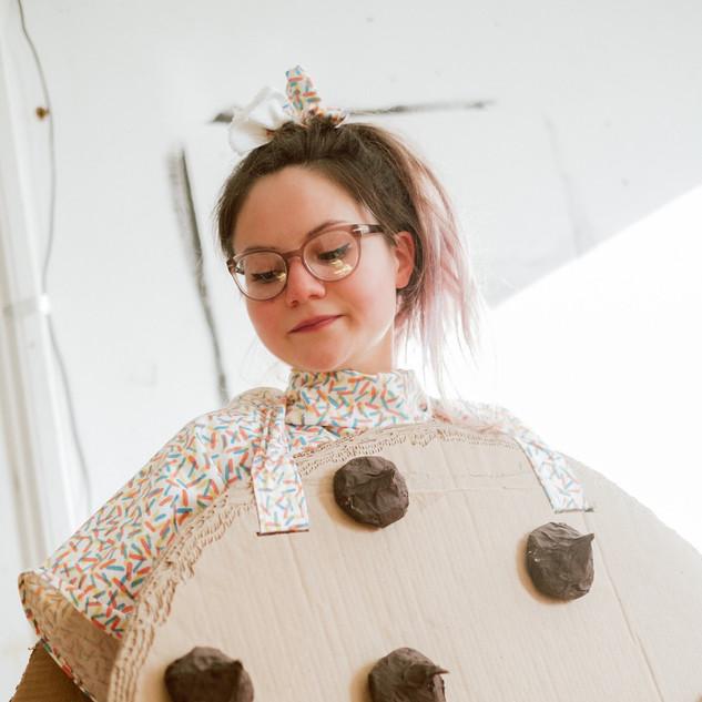 Ice Cream Chipwich Costume