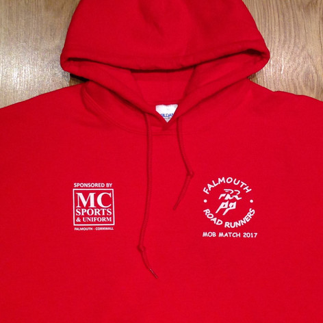 Falmouth Road Runners Mob Match Hoodies