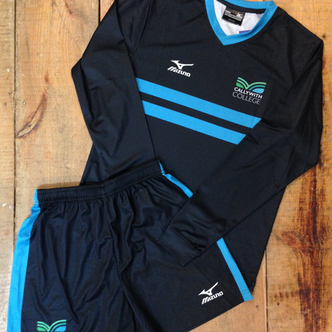 Callywith College Football Kit