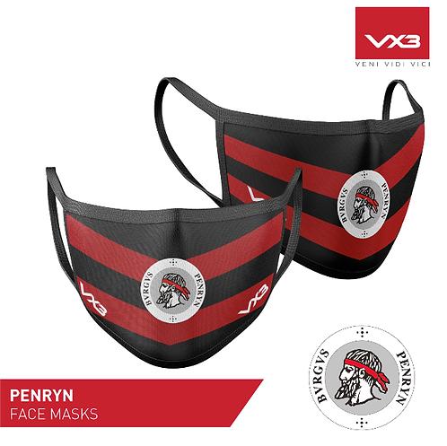 Penryn Rugby Club Face Mask