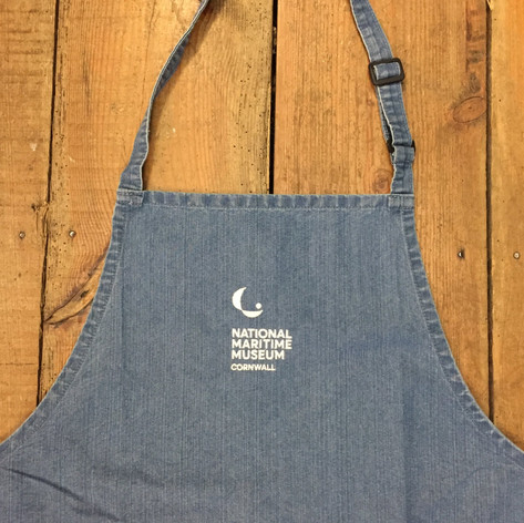 National Maritime Museum Cornwall Catering Apron