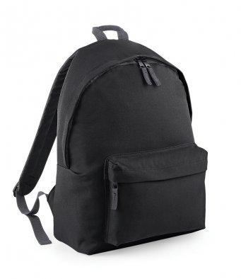Plain Black Junior Backpack