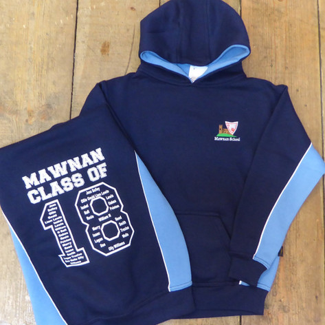 Mawnan School Leavers' Hoodie 2018