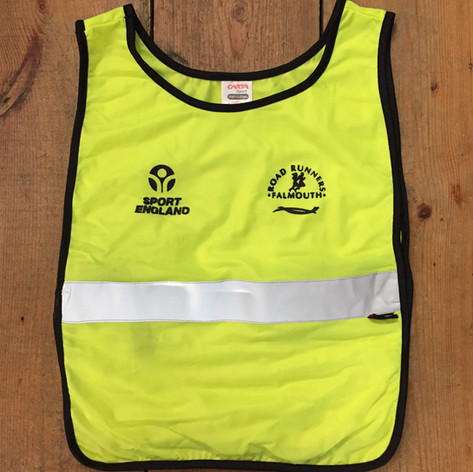 Falmouth Road Runners High-Viz Running Tabard