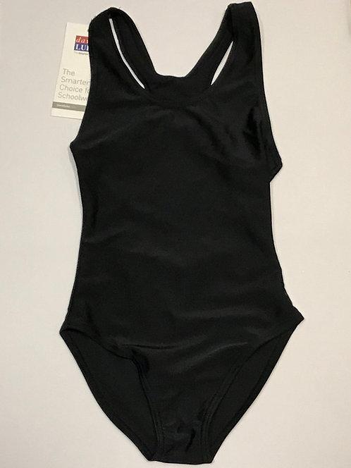 Plain Black Swimsuit