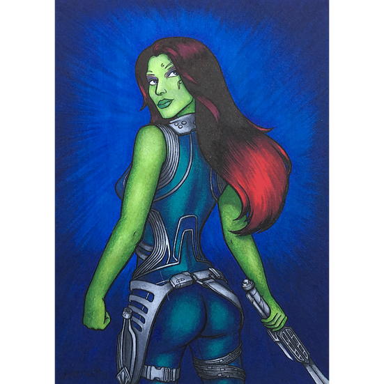 Gamora Sketch