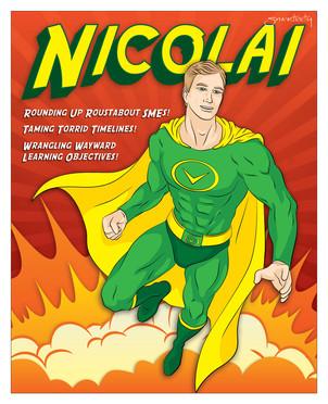 Publishing Awards - Nicolai