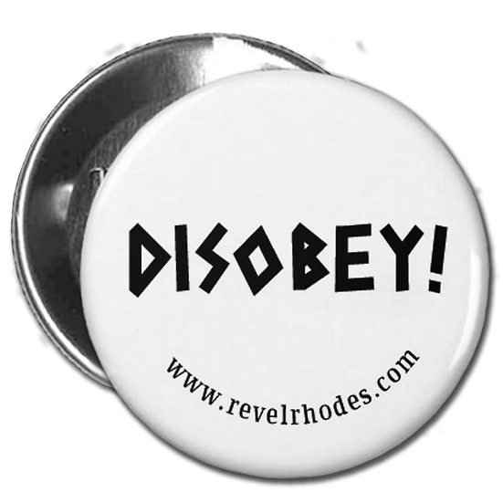 Disobey - Black on White
