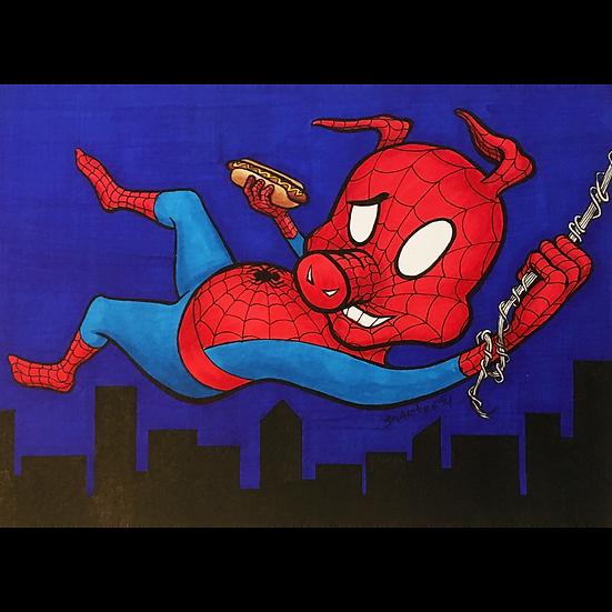 Spider Ham - Blue