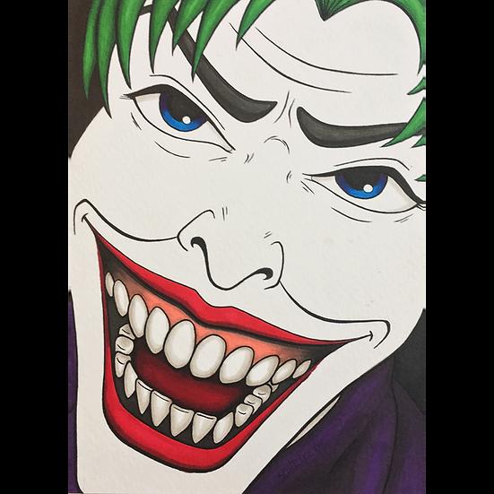 Joker Sketch 1