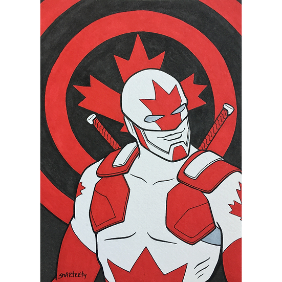 Captain Canuck Sketch