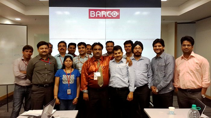 MSP2013_at_Barco_NOIDA
