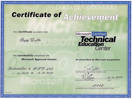 Sujoy_Dutta_Microsoft_ASP_dot_NET_Traini