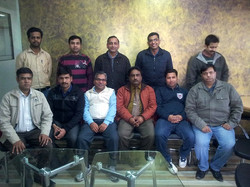 PMP Batch at Leela Jay Technologies