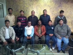 PMP Batch at Leela Jay Technologies