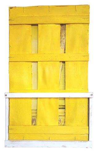 Pallet Study in Yellow (2020)