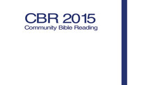 COMMUNITY BIBLE READINGとは?