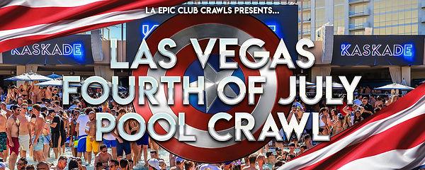 Las Vegas 4th of july POOL CRAWL EB head