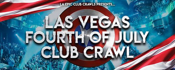 Las Vegas 4th of july CLUB CRAWL EB head