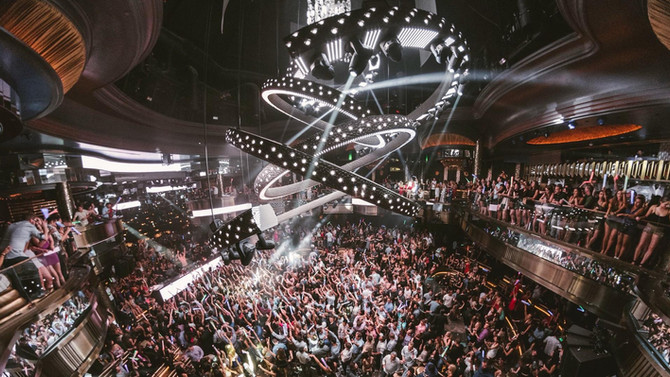 5 of the Best Mega Clubs in Las Vegas