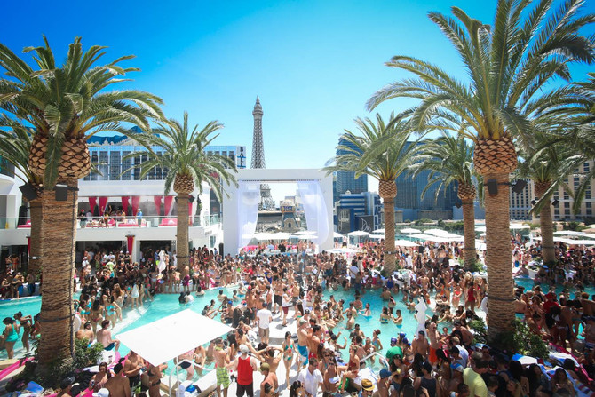 The Best Pool Parties in Las Vegas !
