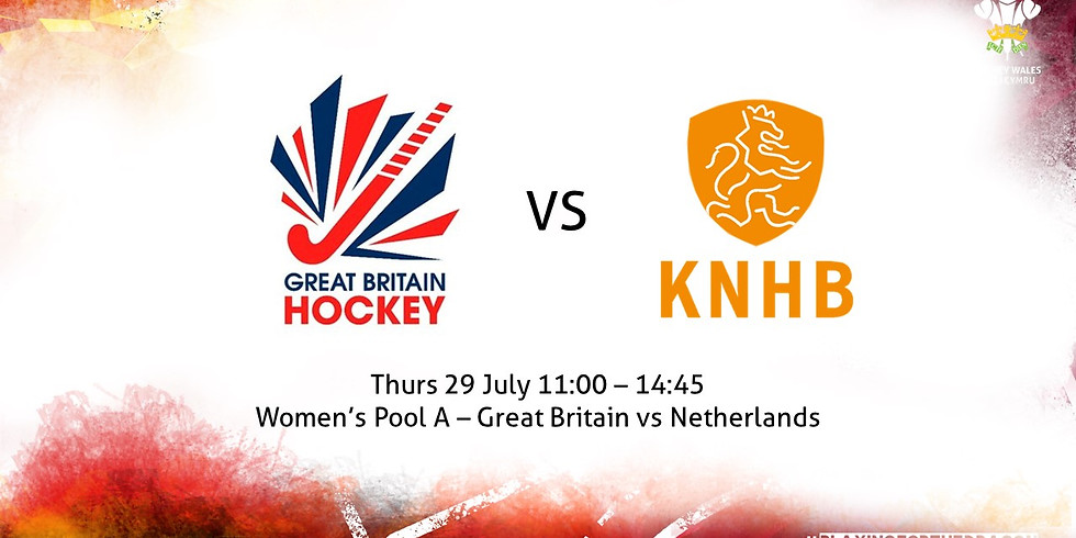 Great Britain vs Netherlands (Women)