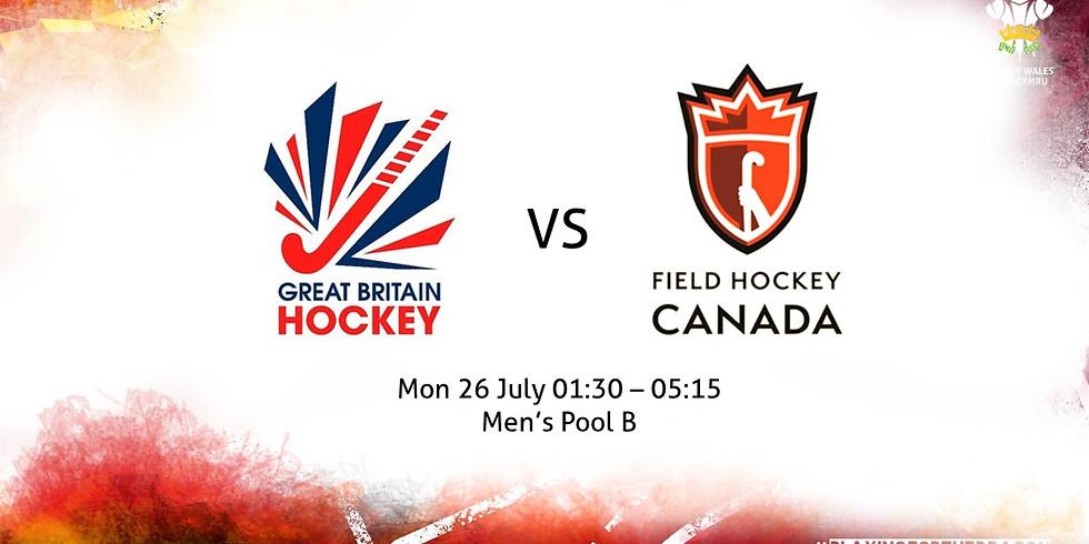 Great Britain vs Canada (Men)
