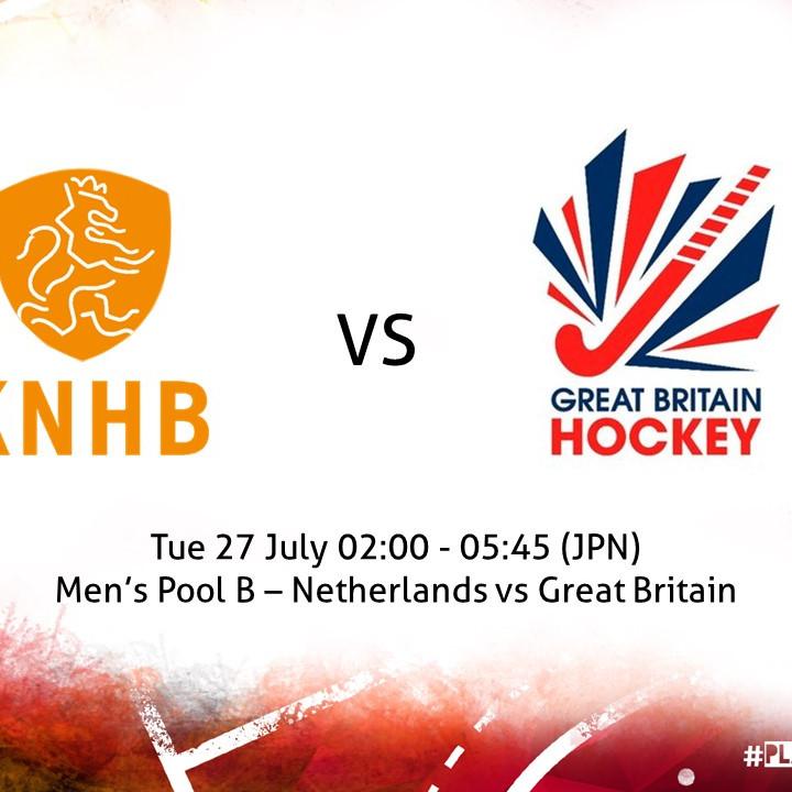 Netherlands vs Great Britain (Men)