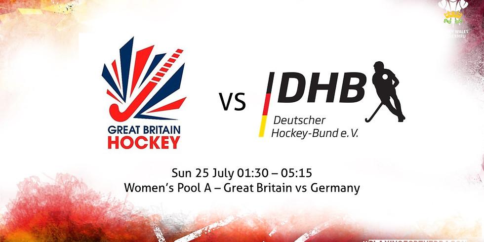 Great Britain vs Germany (Women)