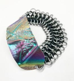 Folded & Mailled Bracelet