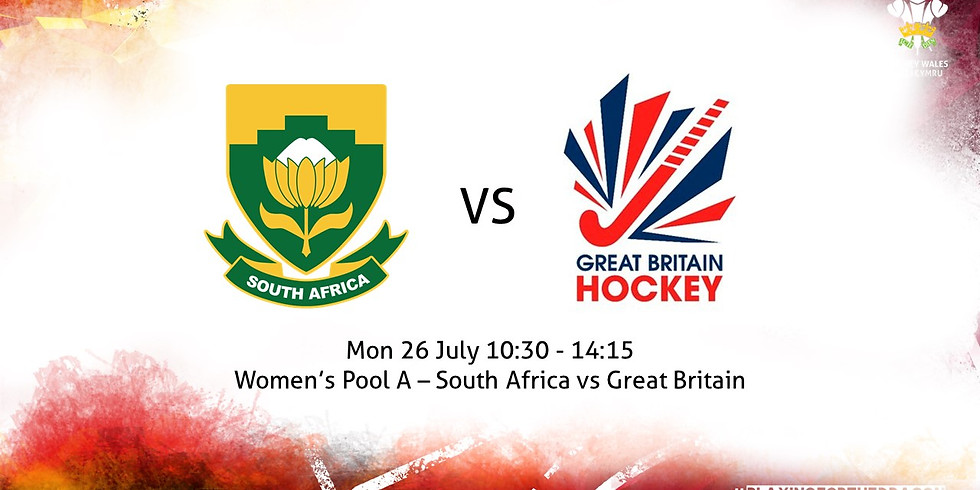 South Africa vs Great Britain (Women)