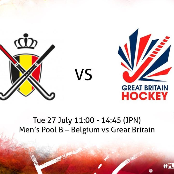 Belgium vs Great Britain (Men)