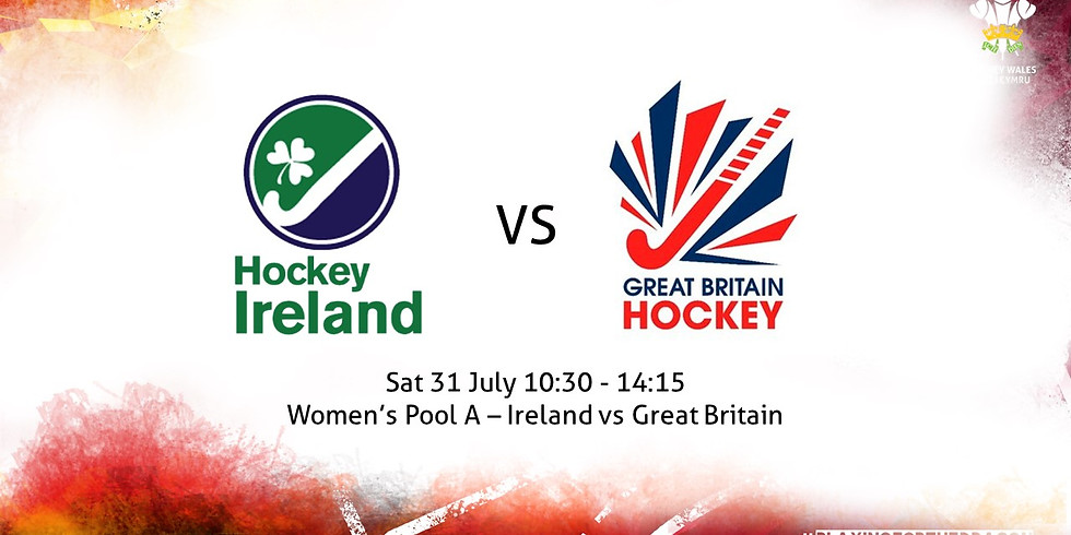 Ireland vs Great Britain (Women)