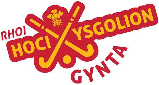 Putting Schools Hockey First Logo WELSH.
