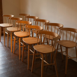 """HIigh-Chairs for """"foolscap! atelier"""""""