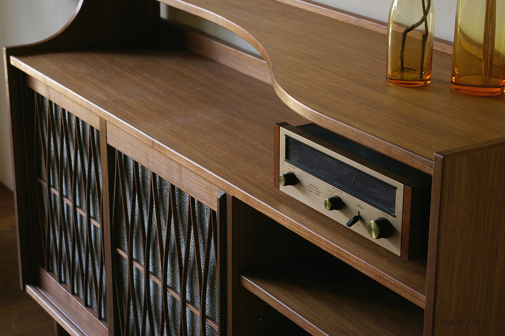 AUDIO CABINET / wedge