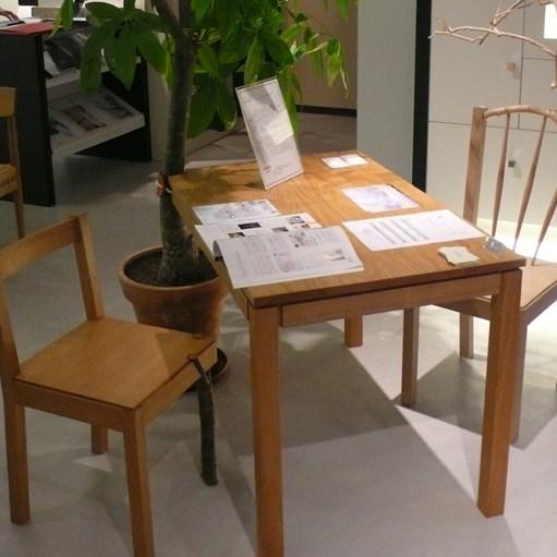 -1LEG TABLE / wedge
