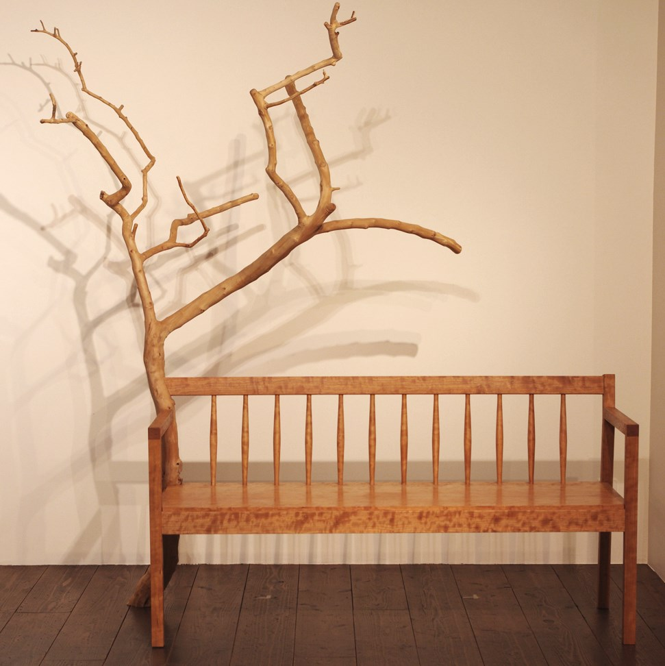 BRANCH BENCH / wedge