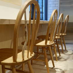 """Chairs for """"foolscap! atelier"""""""