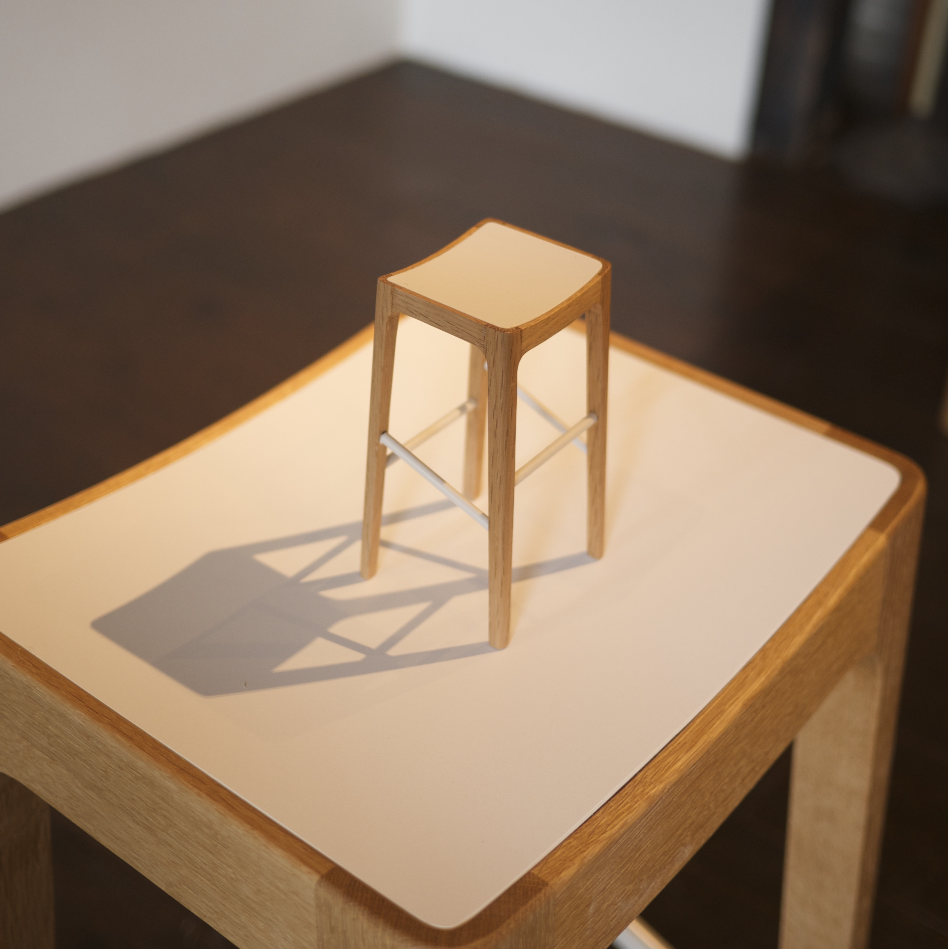 High STOOL 1/5 scale model