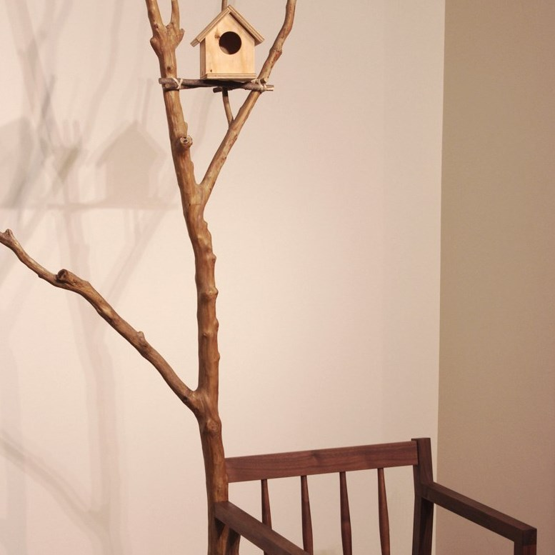 BIRD'S NEST ARM-CHAIR / wedge
